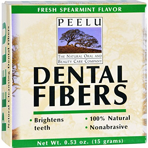 Dental Fibers Tooth Powder - Peelu Dental Fibers Tooth Powder - Spearmint - .53 oz