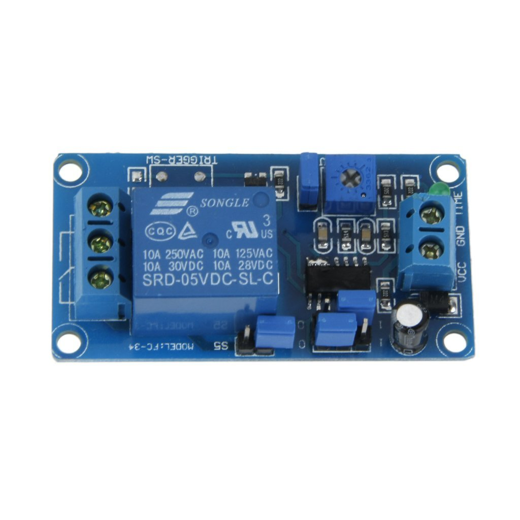 Relay Switch Card Buy Imported Dc 12v Delay Turn On Off Module Timer Up To 1 Hour Online At Low Prices In India