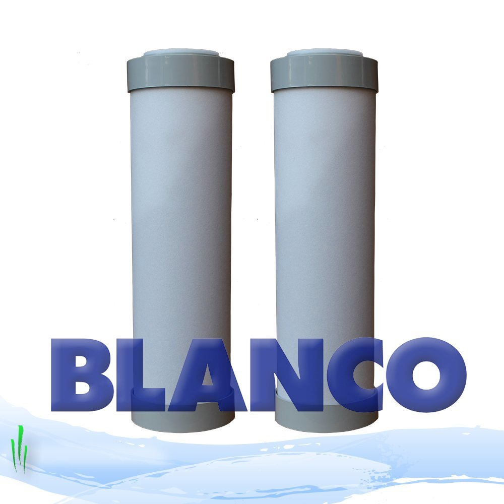 GENUINE BLANCO REPLACEMENT WATER FILTER CARTRIDGE - 2 PACK CMIBJCK003739
