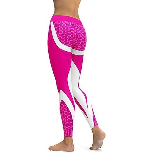 8c61b7261d Amazon.com: Women Mesh Yoga Pants Sports Leggings Fitness Floral ...