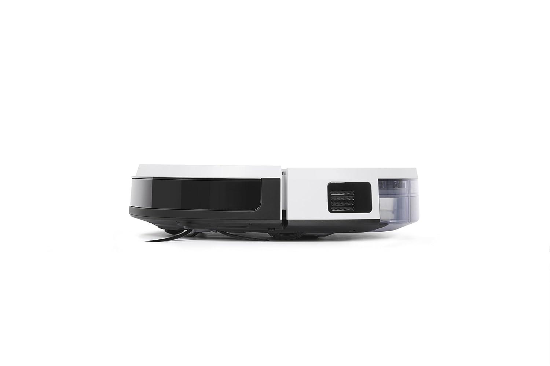 Aspirateur robot nettoyeur Pour sols durs et tapis Aspirateur sans fil programmable via smartphone et compatible avec  Alexa ECOVACS DEEBOT 600