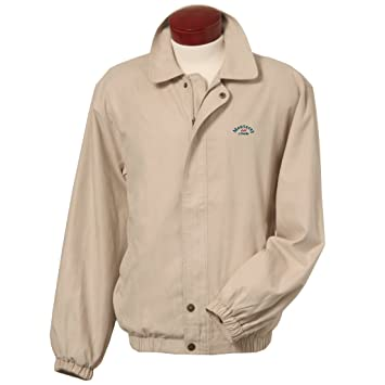 Amazon.com: Monterey Club Men's Classic Vegan Suede Windbreaker ...