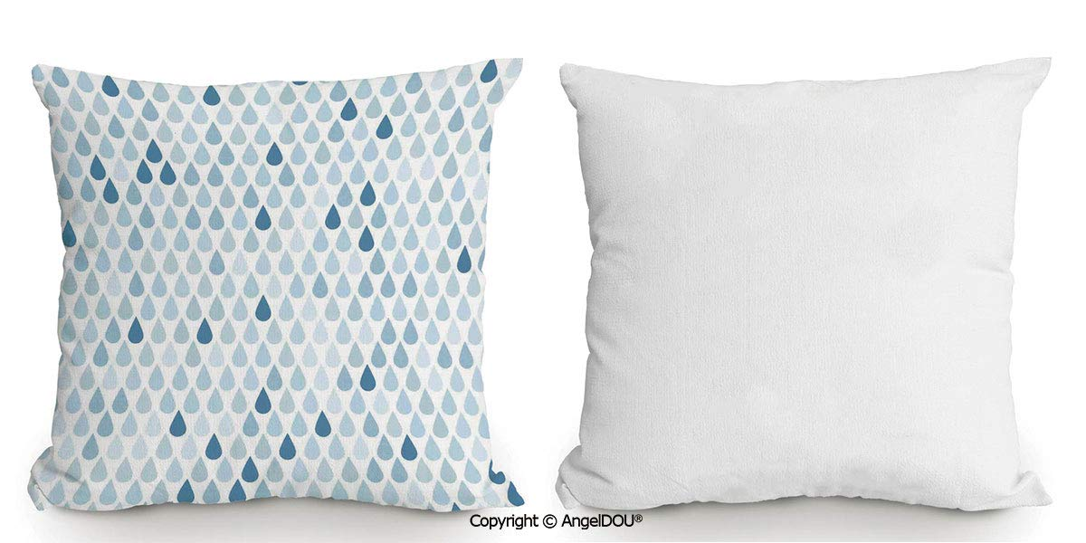 Amazon.com: AngelDOU - Funda de almohada de algodón y lino ...