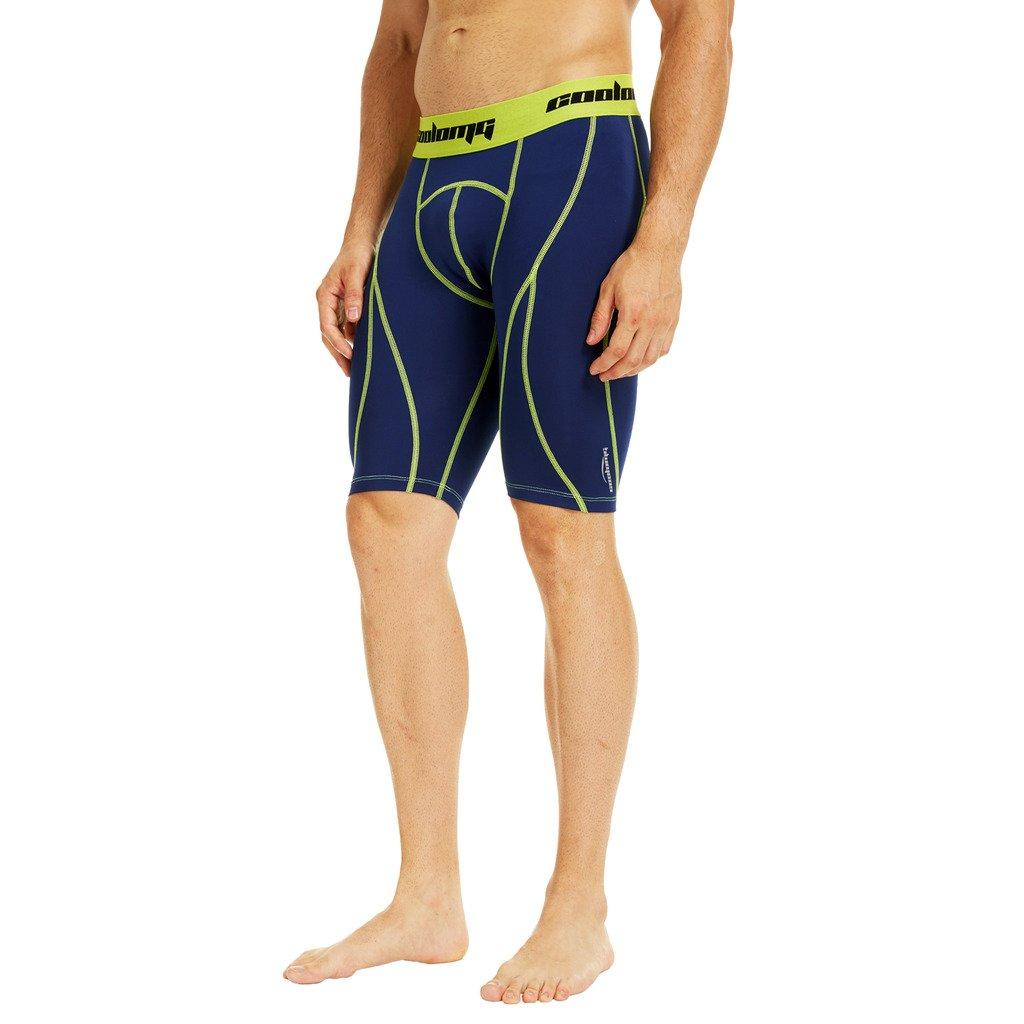COOLOMG sous-v/êtement de Compression 9/Short pour f/êtes Pantalons Base Layer Cool Dry 10/ Couleurs
