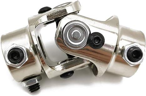 Maximum Working Angle: 35/° Degree Ensun 3//4 DD x 3//4 DD Nickel Plating Single Steering Shaft Universal U Joint 3-1//4 Total Length: 83mm