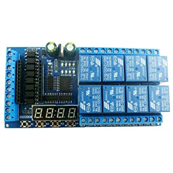 8 Channel Relay Module PLC Power Sequencer Board Programmable