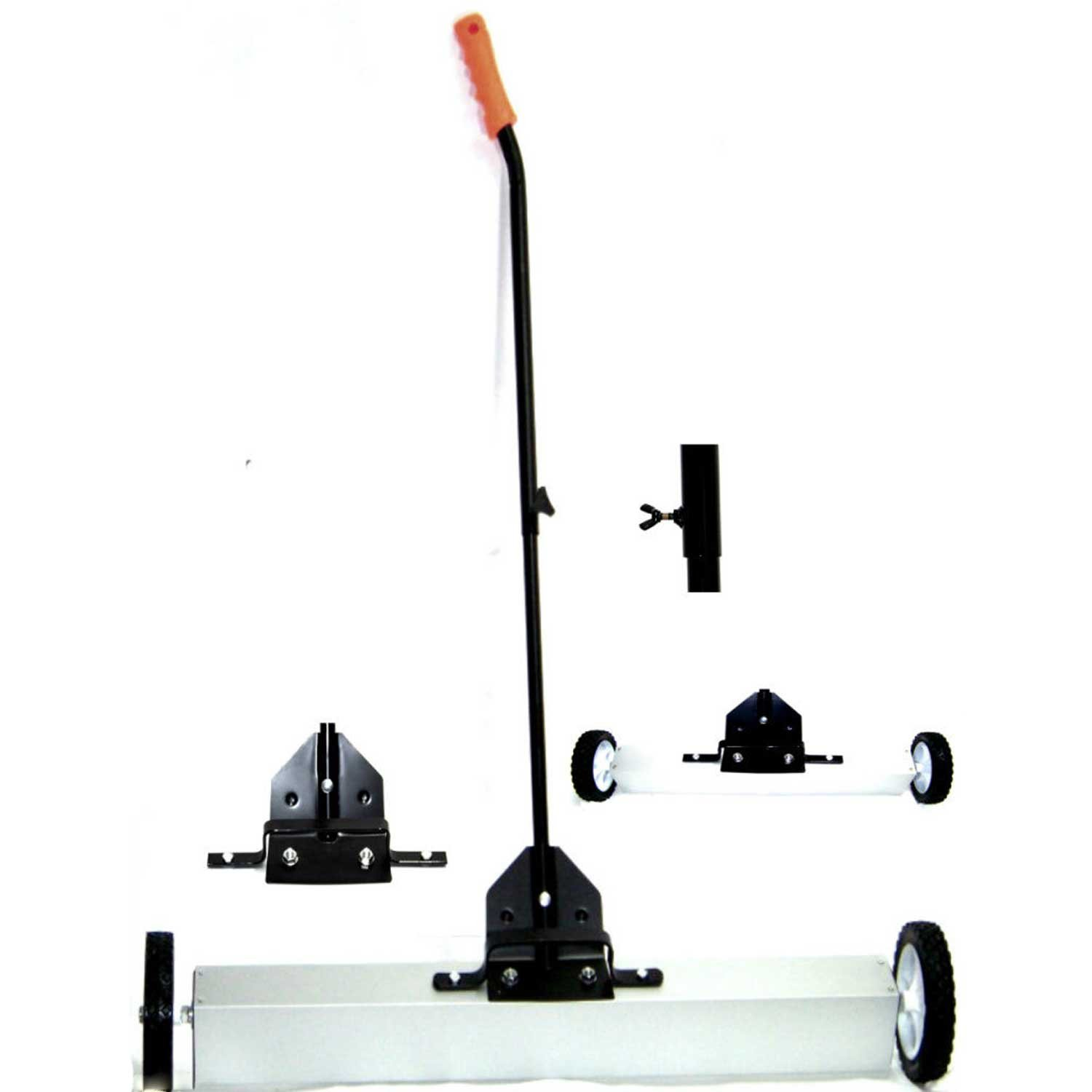 36'' H D Magnetic Roller Sweeper Magnet Pick Up Tool 30lb Capacity Cmt