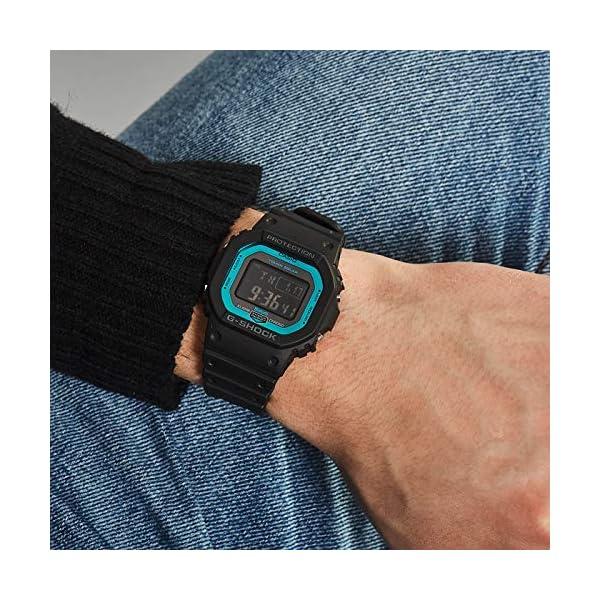 Casio Reloj Digital para Hombre de Cuarzo con Correa en Resina GW-B5600-2ER 4