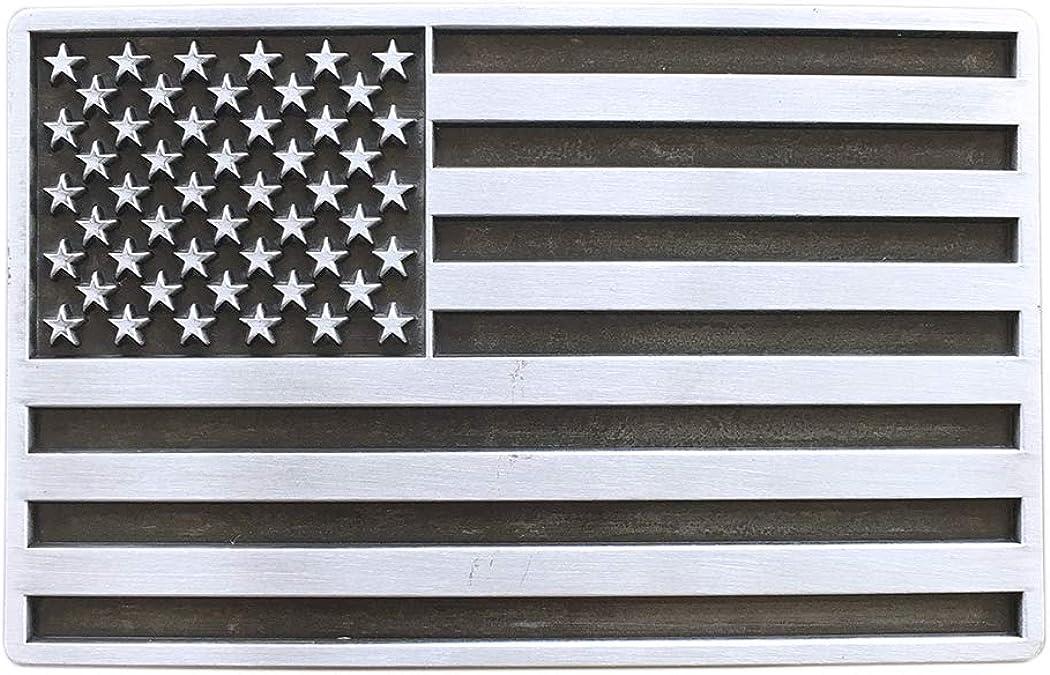 Urban Backwoods US Flag III G/ürtelschnalle f/ür Wechselg/ürtel Buckle