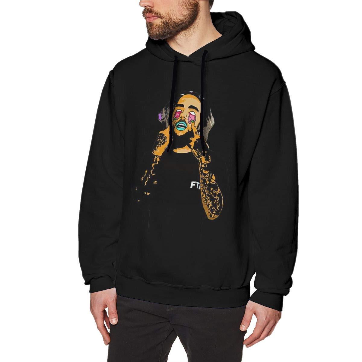 Mens Hooded Sweatshirt Suicide Boys Fashion Classic Style Black