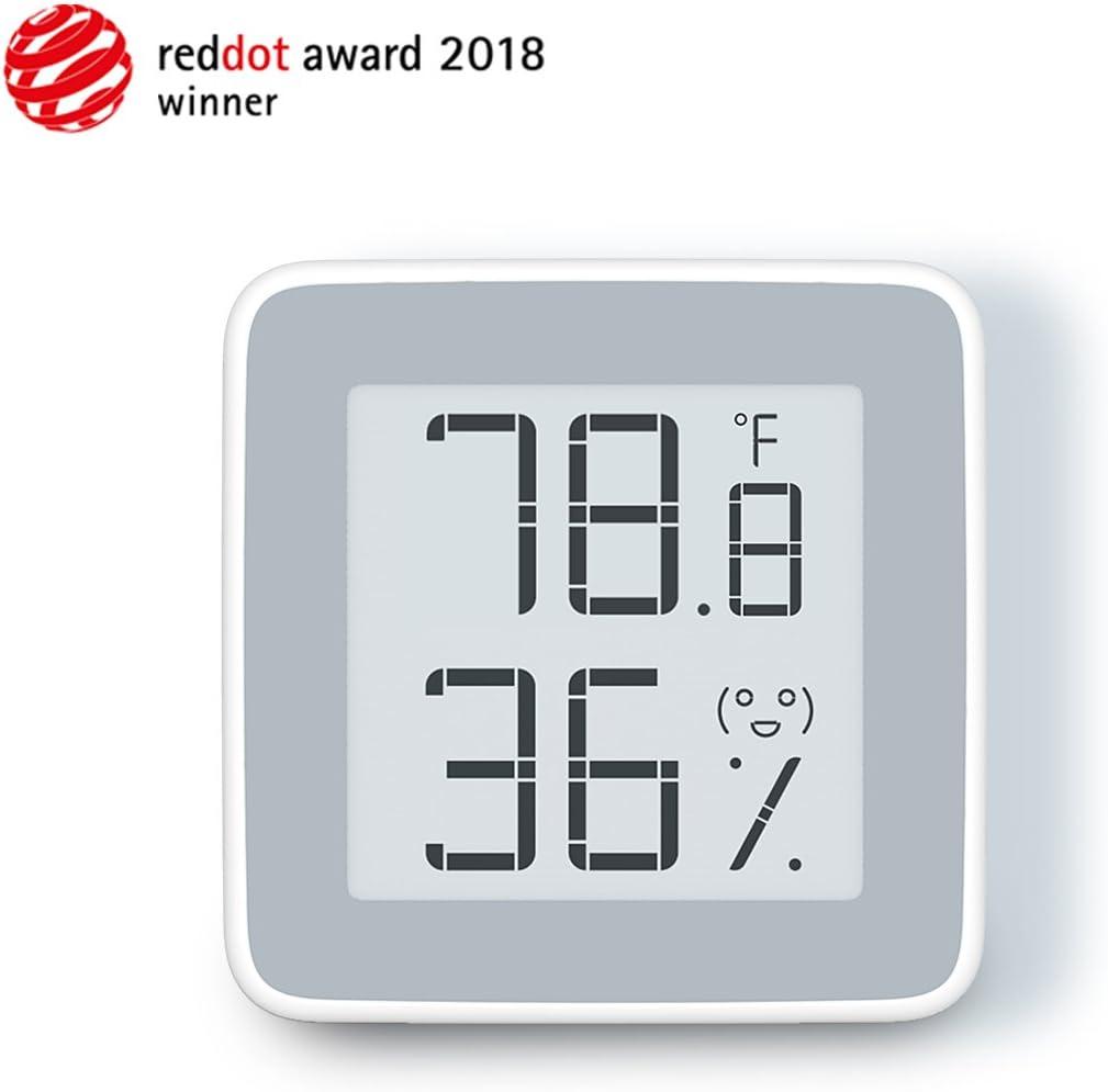 2018 Reddot Award Winner Thermometer for Indoor Use Homidy Hygrometer Digital Indoor Thermo Hygrometer with Swiss High Precision Sensirion Digital Sensors