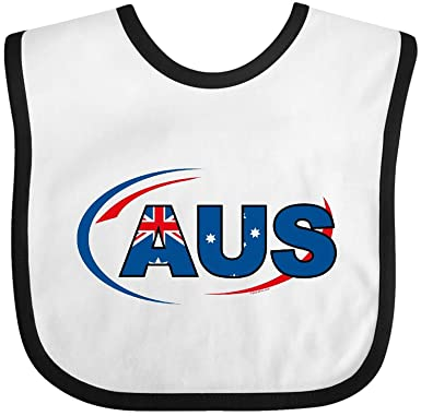 Amazon com: - Country Code Australia Baby Bib Degrema: Clothing