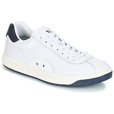 927ed4e5b73 Polo Ralph Lauren COURT100-SK-ATH Sneakers Homme White 40  Amazon.fr ...