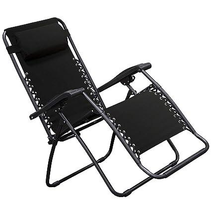 Amazon Com Zero Gravity Lounge Chair Multi Position Adjustable