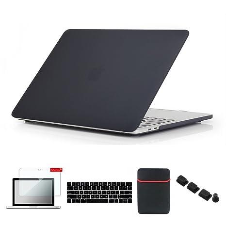 Se7enline 2016-2018 MacBook Pro Case Matte Plastic Hard Cover for MacBook  Pro 13 inch 77bc131e1