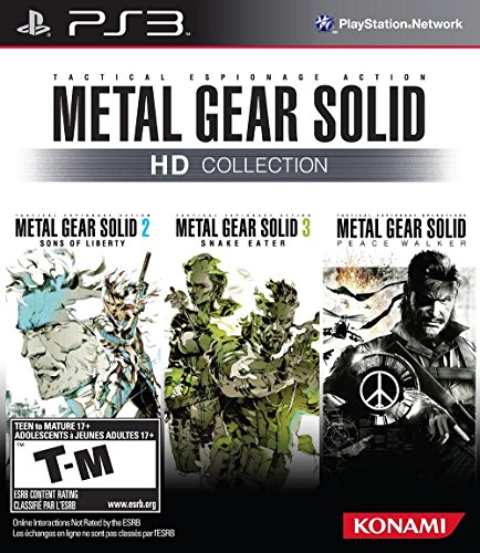 Metal Gear Solid HD Collection (Ps3 Metal)