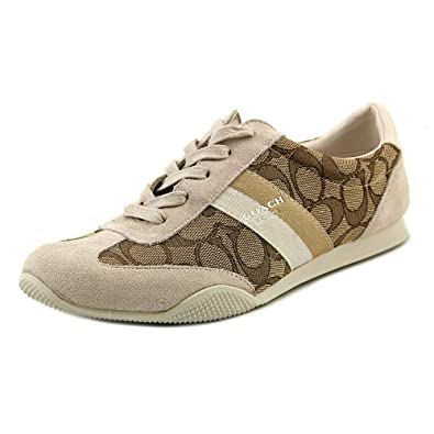 Coach Kelson Outline Womens Sneaker Size US 8 Khaki/chalk