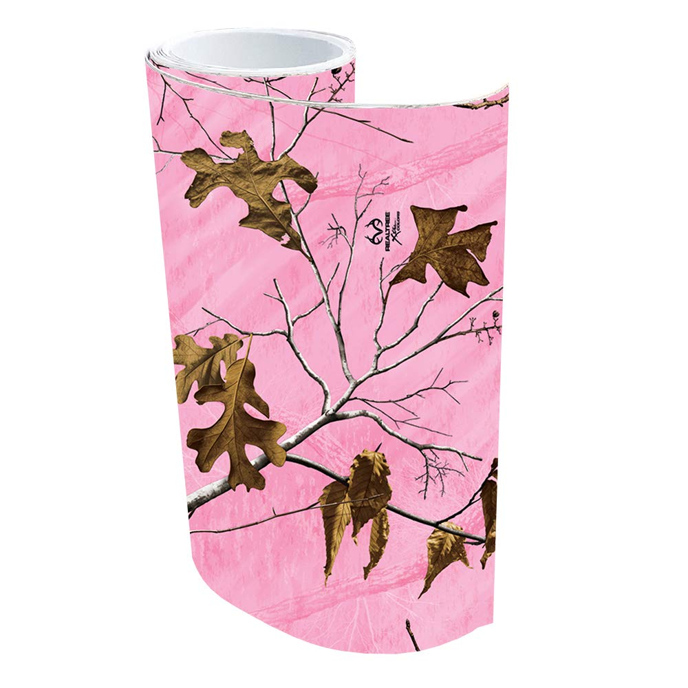 Realtree Camo Graphics RT-CAK6-XTP 6in x 84in Accessory Kit Roll Matte Finish Realtree Pink Camo Graphics Wrap