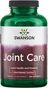 Swanson Joint Care with Glucosamine Msm & Chondroitin 120 Sgels