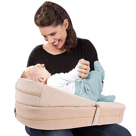 YSYDE Almohada de Lactancia Ajustable para bebés, Usted ...