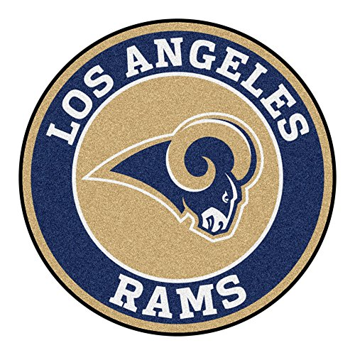 Louis Rams Floor Rug (FANMATS 17976 NFL St. Louis Rams Roundel Mat)
