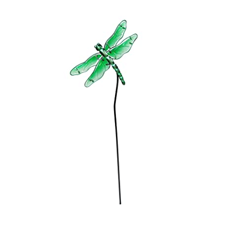 creative motion 14317 7 painted metal garden stakes green product size 078 x - Metal Garden Stakes