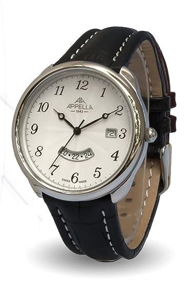 Appella AP.4365.03.0.1.01 - Reloj para hombres, correa de acero