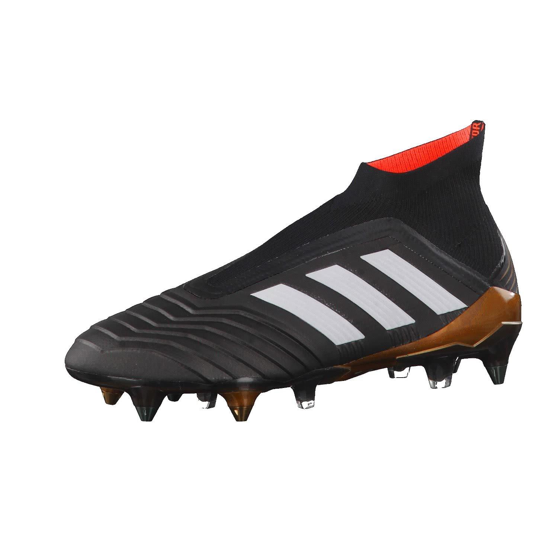 Adidas Herren PROTator 18+ SG Fußballschuhe, Schwarz (Cschwarz Ftwwht SolROT), 39 1 3 EU