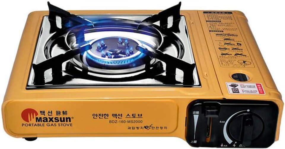 Portátil para cocinar Cocina de Gas Estufa de un Solo Quemador ...