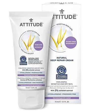 Amazon com : ATTITUDE - Natural Deep Repair Cream - With Colloidal