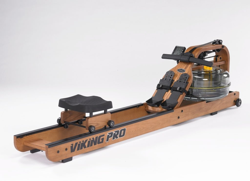 First Degree Fitness Viking PRO Rower COMMERCIAL GRADE DESIGNED Horizontal Series – Fluid Rower