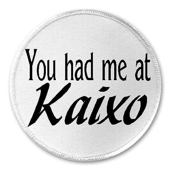 "Amazon.com: You Had Me At kaixo – 3"" coser/Iron on ..."