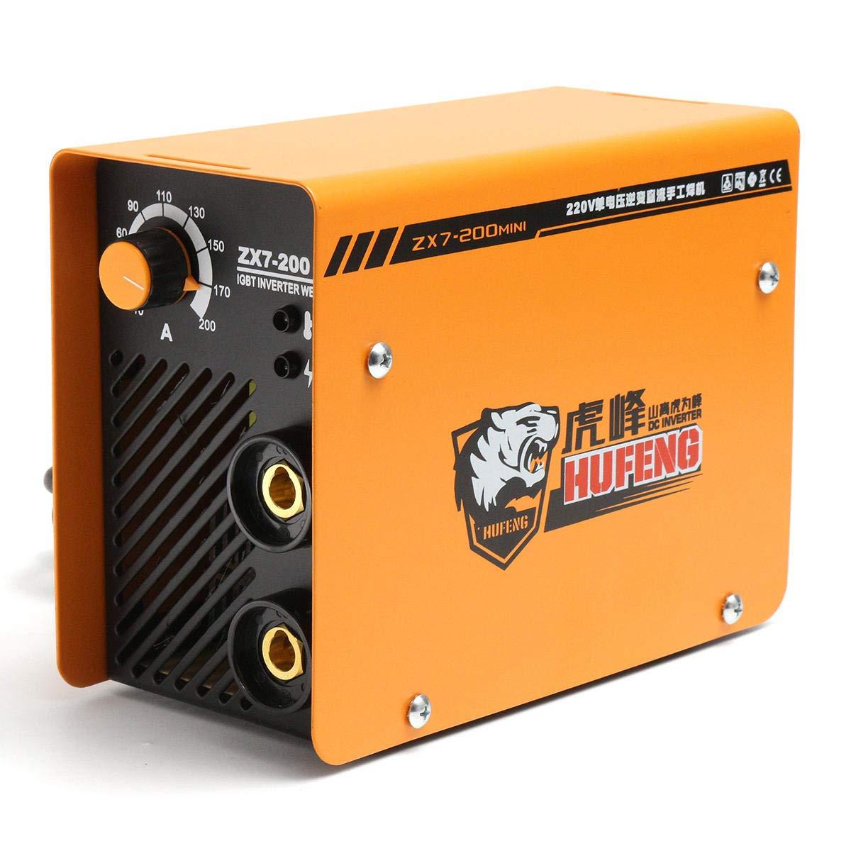 ZX7-200 Mini Portable IGBT Full Copper Core DC Inverter 200A ARC Welding Machine