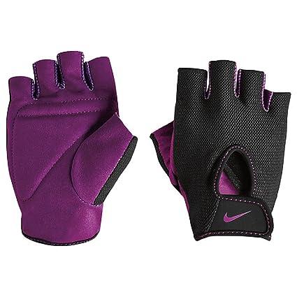 3808987fbf Nike Women's Fundamental Training Gloves (Black/Bold Berry, X-Small)