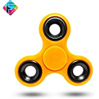 Fidget Spinner Toy for Kids Hand Spinner Toy Perfect for Spend Time Relieves for Children and Adults - Yellow
