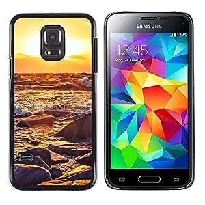iKiki Tech / Estuche rígido - Sunset Waves - Samsung Galaxy S5 Mini, SM-G800