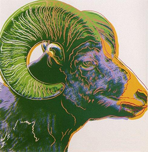 Edward Kurstak Gallery Endangered Species Bighorn RAM 1983 by Andy Warhol