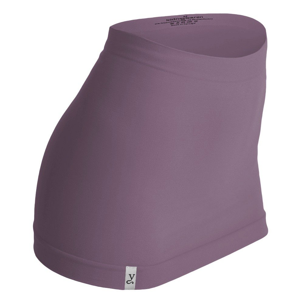 soft lila Gr/ö/ße:L Kidneykaren Nierenw/ärmer Basic- Tube Multifunktion Yogagurt Fitness /& Freizeit Grapeade