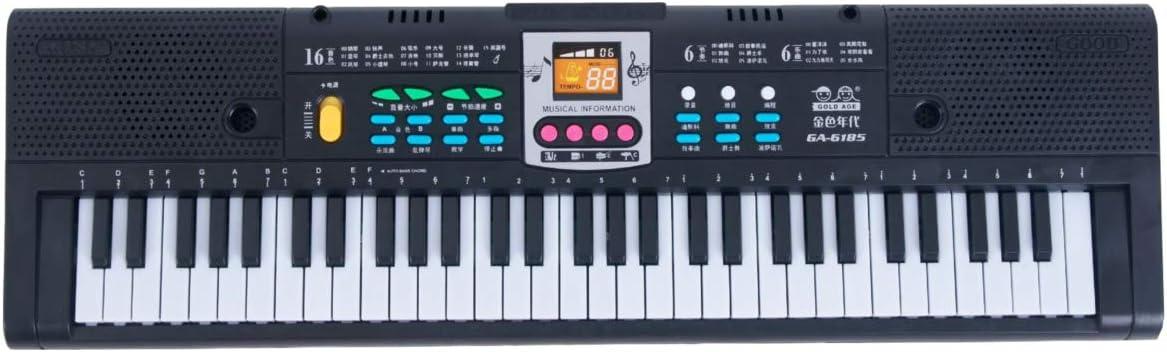 61 teclas Música digital Teclado electrónico Piano eléctrico ...