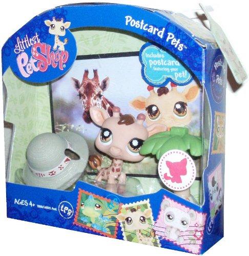 Littlest Pet Shop Postcard Pets Giraffe