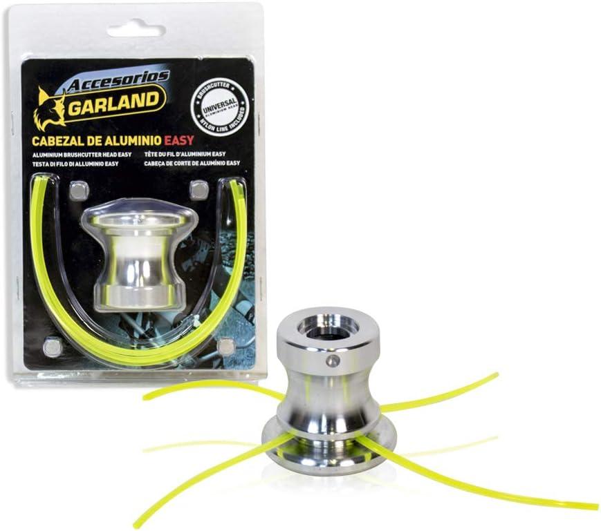 Garland 7199000140 - Cabezal de Aluminio EASY Universal para Desbrozadora: Amazon.es: Jardín