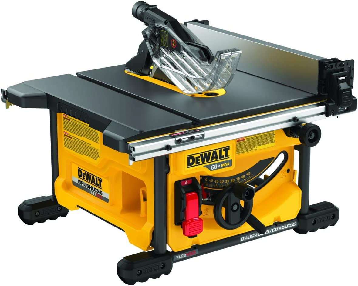 1. Dewalt DCS7485B Compact Table Saw