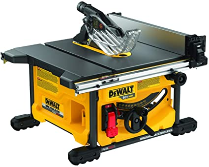 DEWALT DCS7485B FLEXVOLT sierra de mesa de 60 V máx, 8-1/4 ...