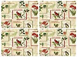 Pimpernel Set of 4 Holiday Nostalgia Placemats