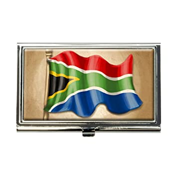 Vintage south african flag south africa business credit card vintage south african flag south africa business credit card holder case reheart Choice Image