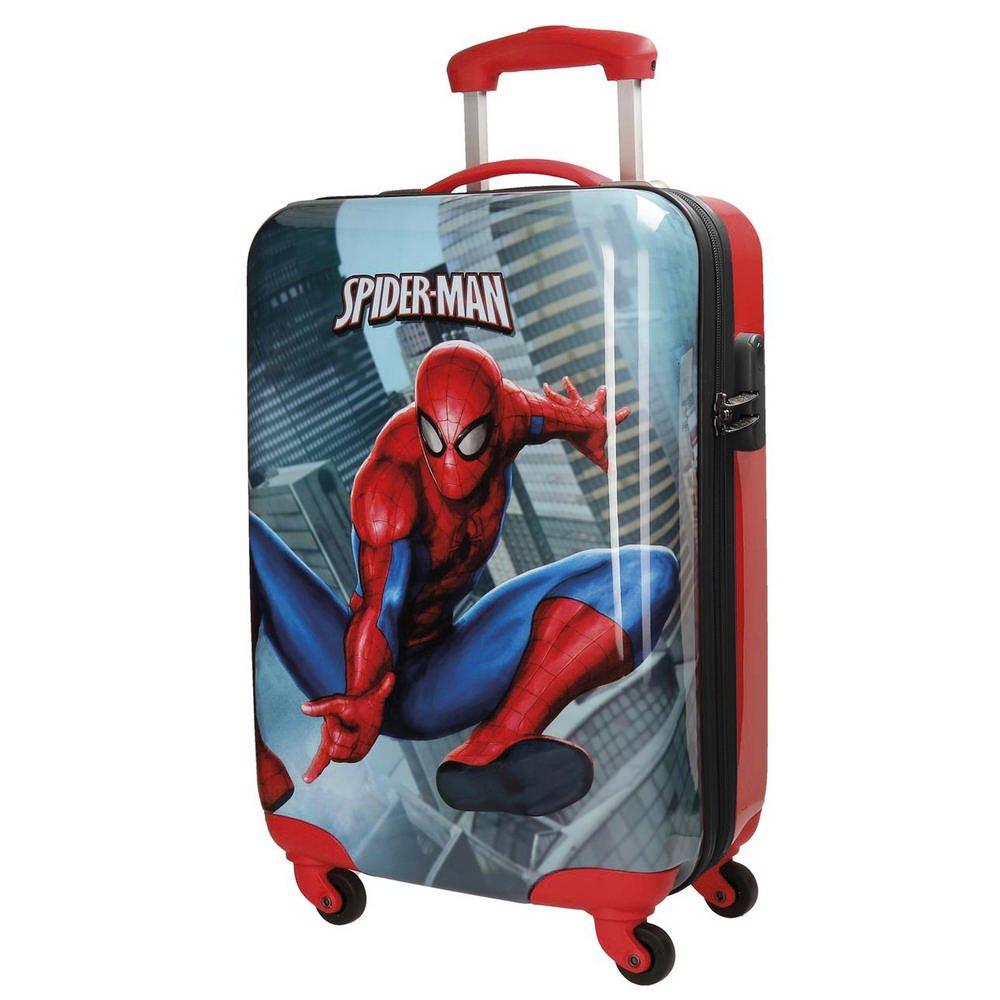 Spiderman City Kindergepäck, 55 cm, 33 liters, Mehrfarbig (Multicolor)