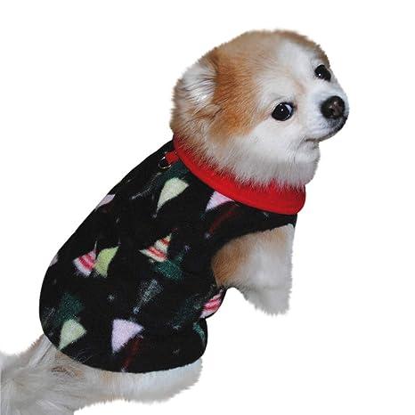 Marvvola Ropa para Perro, Suave, para Invierno, cálida, para Perros, Ropa