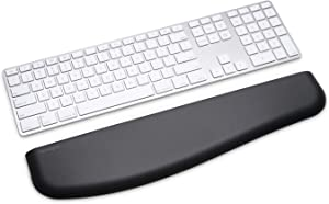 Kensington ErgoSoft Wrist Rest for Slim Keyboards, Black (K52800WW)