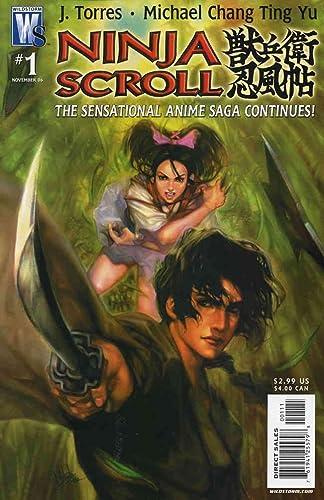 Amazon.com: Ninja Scroll #1 VF/NM ; WildStorm comic book ...