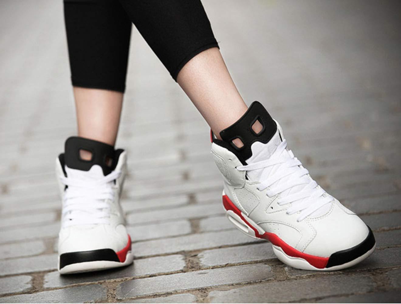 Paar Schuhe, Superfaser-Luftkissen Laufschuhe, Schnürschuhe Basketballschuhe für Männer Männer Männer und Frauen im Herbst und Winter B07MK6F695 Basketballschuhe Internationaler großer Name fc1cdf